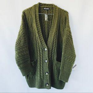 Sweet & Sinful Chunky Knit Cardigan